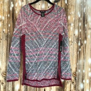NWT NIC+ZOE Boulder Sweater Sz. S